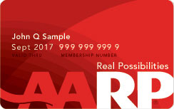 AARP Membership Number