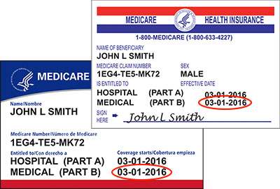 Medicare Part B Effective Date